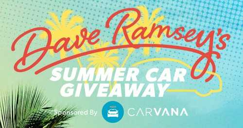 Dave Ramsey Car Giveaway 2018 (Daily)