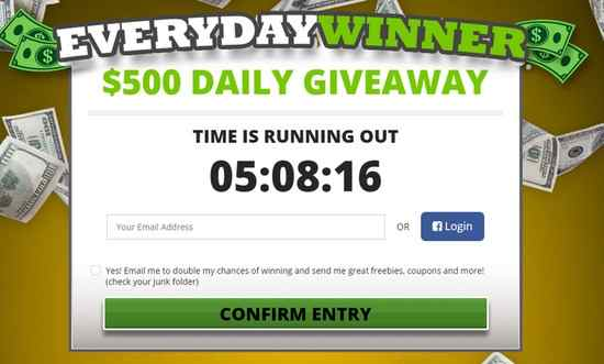 EveryDay Winner Daily Giveaway (91 Days)