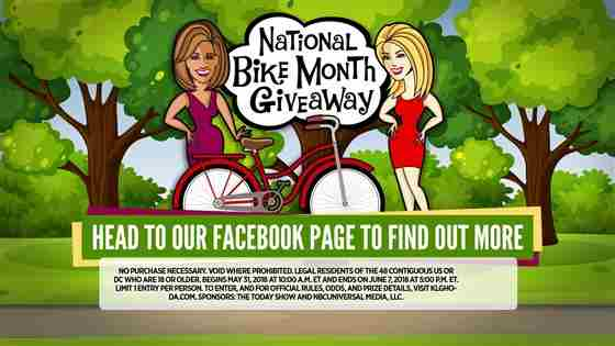 Kathie Lee and Hoda National Bike Month Giveaway