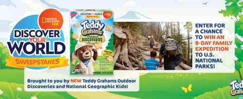 National Geographic Kids Discover Your World Sweepstakes