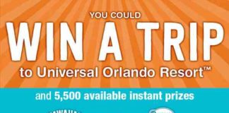 Sun Fun Done Sweepstakes & Instant Win Game