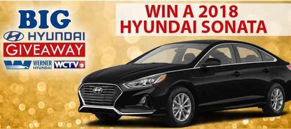 WCTV Big Hyundai Giveaway 2018 (Codeword)