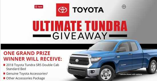 Bassmaster Toyota Ultimate Tundra Giveaway