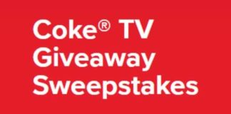 Coke TV Giveaway Sweepstakes 2018