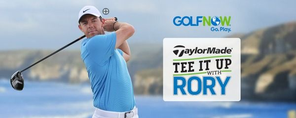 GolfNow Tee It Up With Rory Sweepstakes