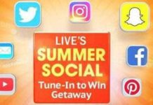 Live With Kelly and Ryan Summer Social Tune-In to Win Getaway Contest