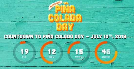 Malibu Pina Colada Day Sweepstakes