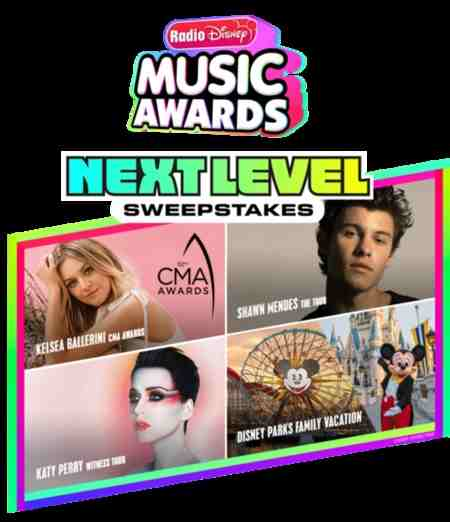 Radio Disney Music Awards RDMA Next Level Sweepstakes