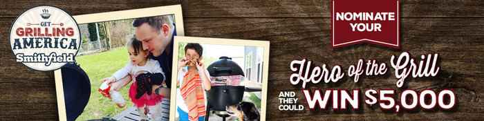 Smithfield Hero of the Grill Instant Win Game & Contest