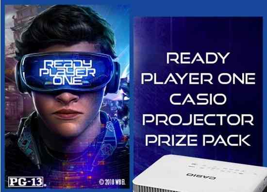 Casio America The Ready Player One Giveaway