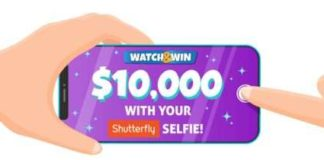 Ellen Shutterfly Selfie Watch & Win Contest