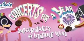 Marinela Concerts for a Year Sweepstakes & Instant Win Game