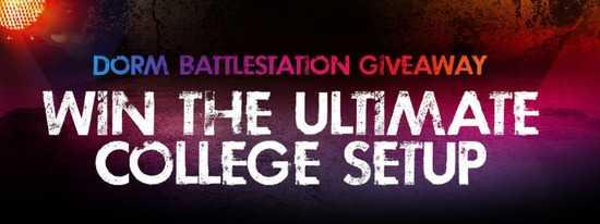 Newegg Dorm Battlestation Giveaway