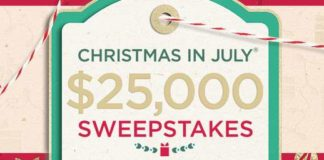 QVC Christmas in July Instant Win Game & Sweepstakes