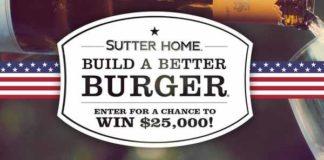 Sutter Home Build A Better Burger Recipe Contest