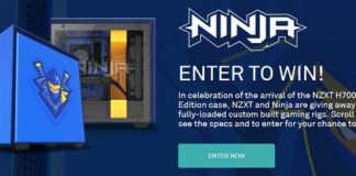 NZXT H700i Ninja Edition PC Giveaway