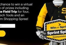 Sprint Spirit Instant Win Game