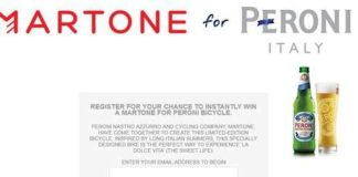 The Martone for Peroni Instant Win Game