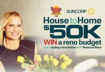 9now Suncorp House to Home competition
