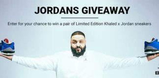 DJ Khaled Jordans Contest