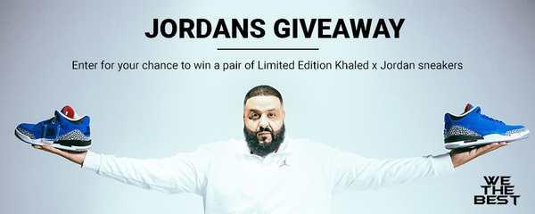 DJ Khaled Jordans Contest