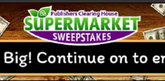 Publishers Clearing House Supermarket Contest
