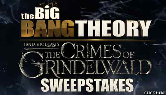Big Bang Theory FanTastic Sweepstakes