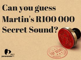 Jacaranda Secret Sound Giveaway