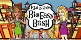 KLG and Hoda Big Easy Bash sweeps