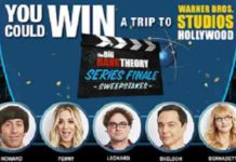 Series Finale Sweepstakes