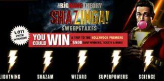 Shazinga Sweepstakes