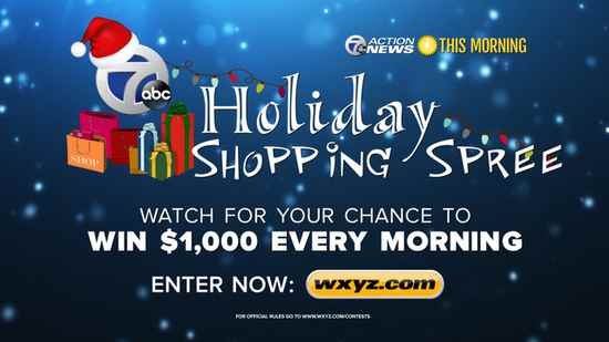 WXYZ Thousand Dollar Giveaway - Win $1000 every morning