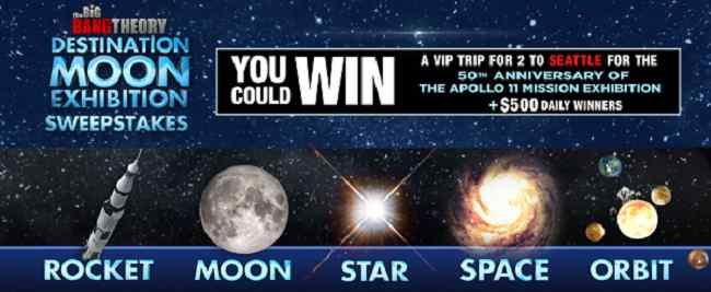 big band destination moon contest