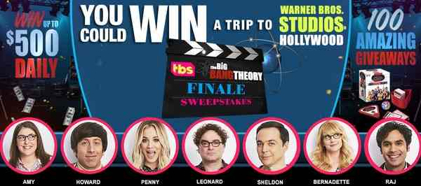 series finale giveaway big bang