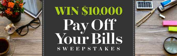 Bhg Pay Off Your Bills Sweepstakes Bhg Com 10kbills