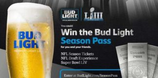 Bud Light Season Pass Sweepstakes