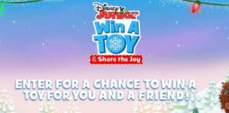 Disney Junior Win A Toy Share The Joy Sweepstakes