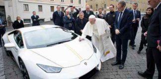 Pope Francis Lamborghini