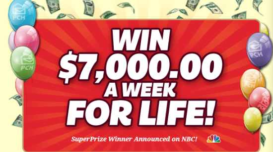 pch 7000 week sweepstakes