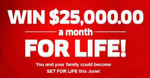 pch 25000 per month