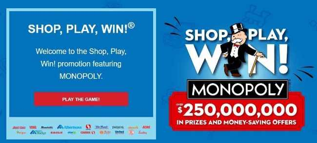 shop play win monopoly rare pieces