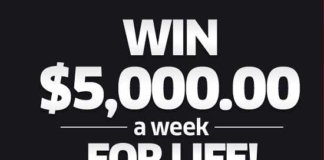 pch 5000 a week for life entry