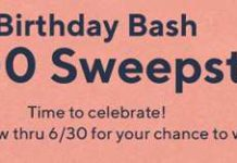qvc birthday