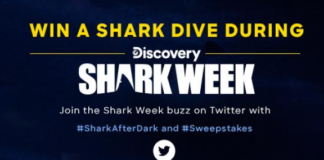 shark week sweeps