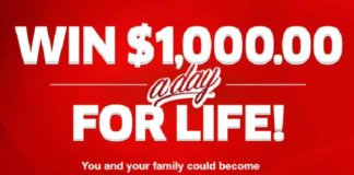 pch 1000 a day for life entry