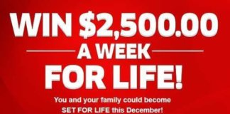 pch 2500 a week contest